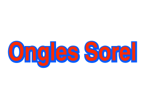Ongles Sorel